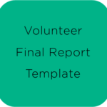 Volunteer Report Template