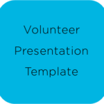 Volunteer Presentation Template